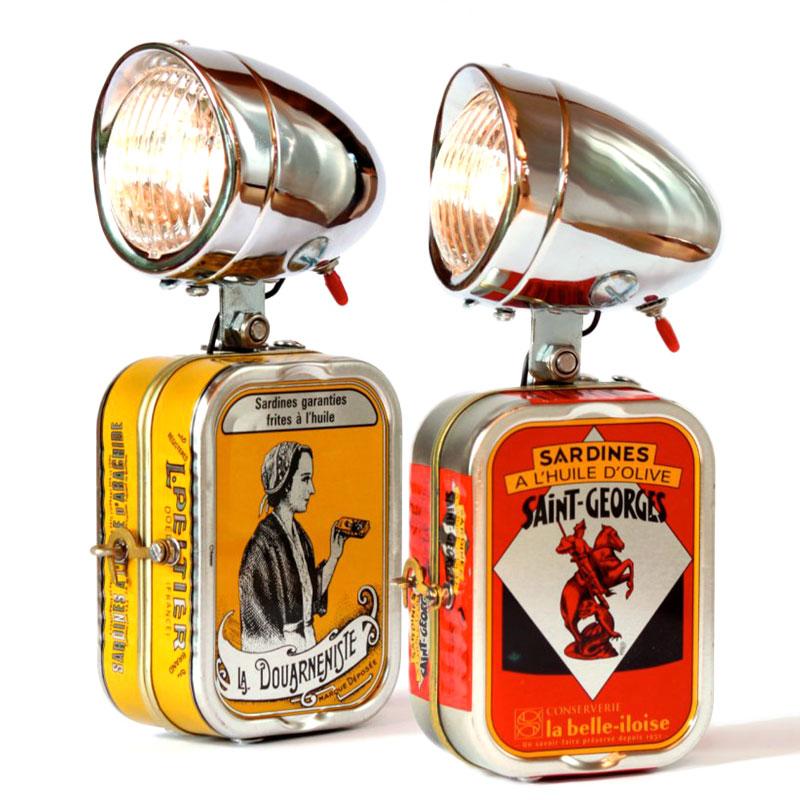 Lampe sardine Loupiote